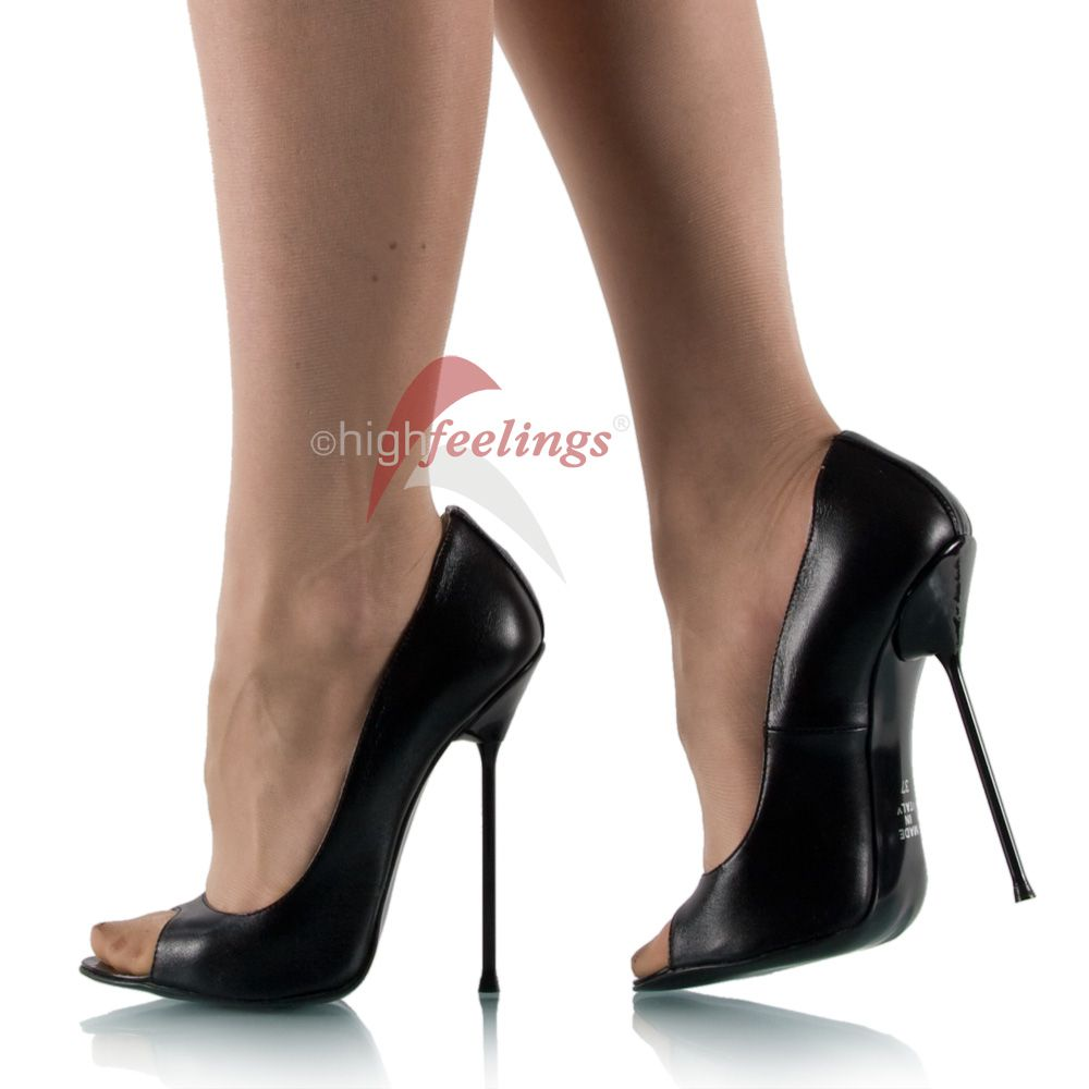 extrem hohe high heels pumps made in italy ebay. Black Bedroom Furniture Sets. Home Design Ideas