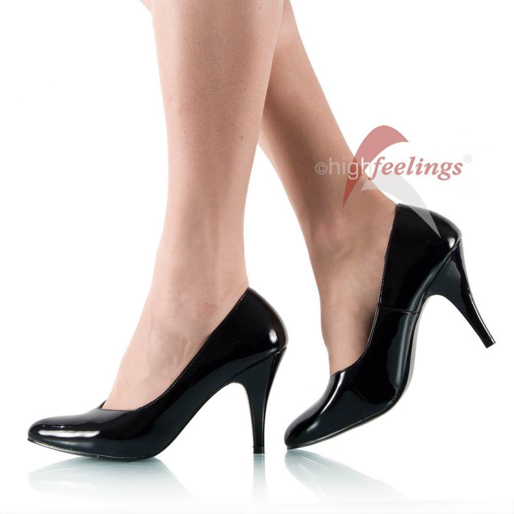m nner pumps m nner high heels schwarz lack gr 43 49. Black Bedroom Furniture Sets. Home Design Ideas