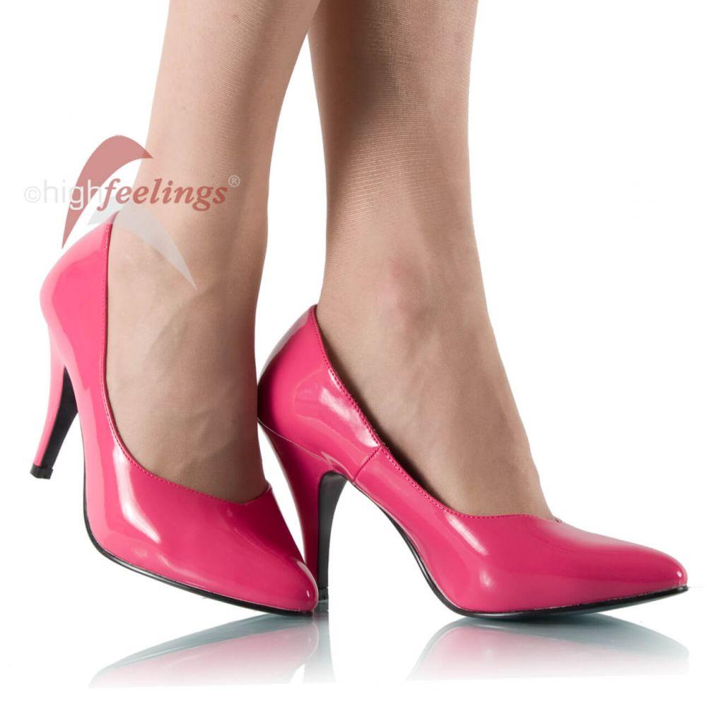 m nner pumps m nner high heels pink lack gr 43 49 ebay. Black Bedroom Furniture Sets. Home Design Ideas