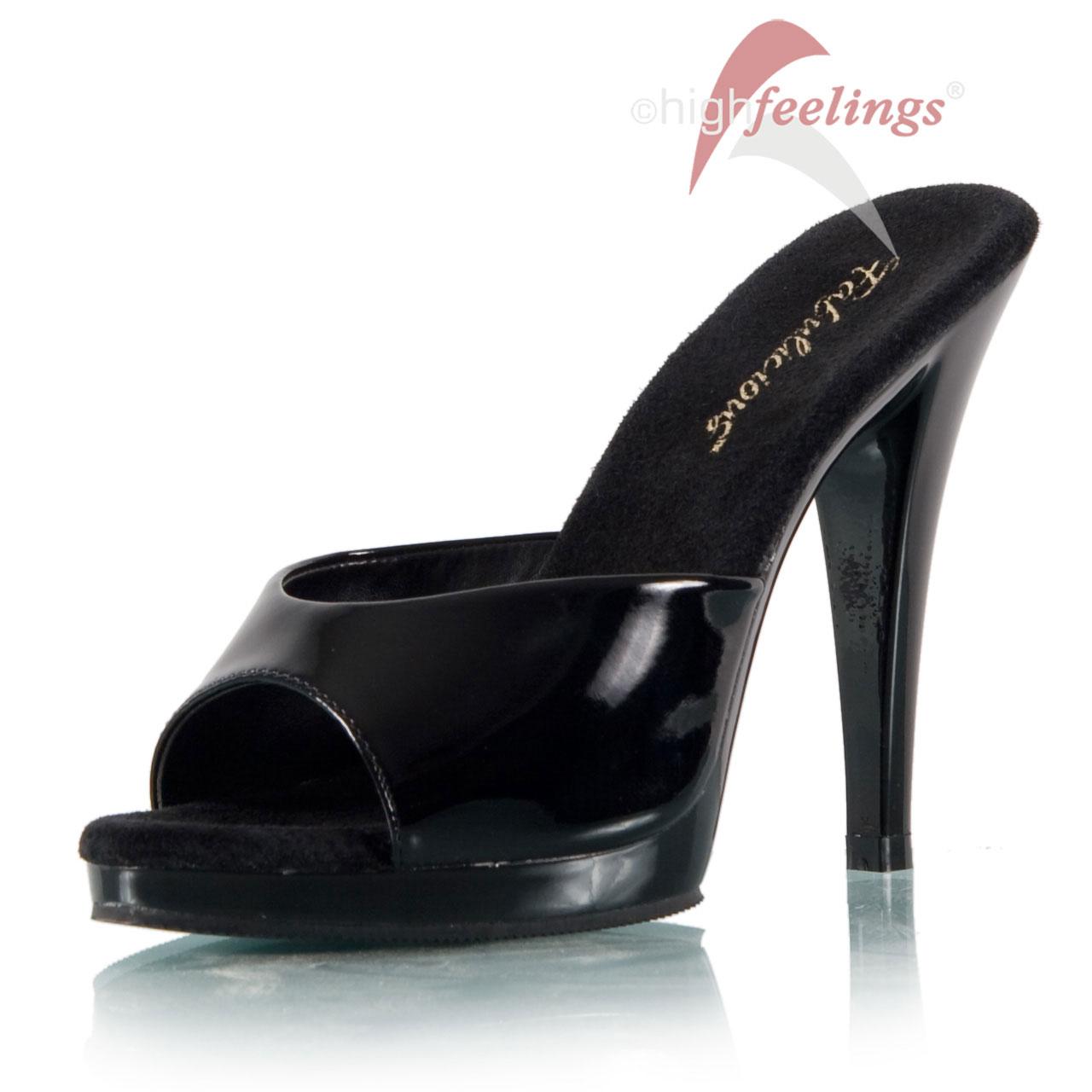 heels pantoletten lack high feelings. Black Bedroom Furniture Sets. Home Design Ideas