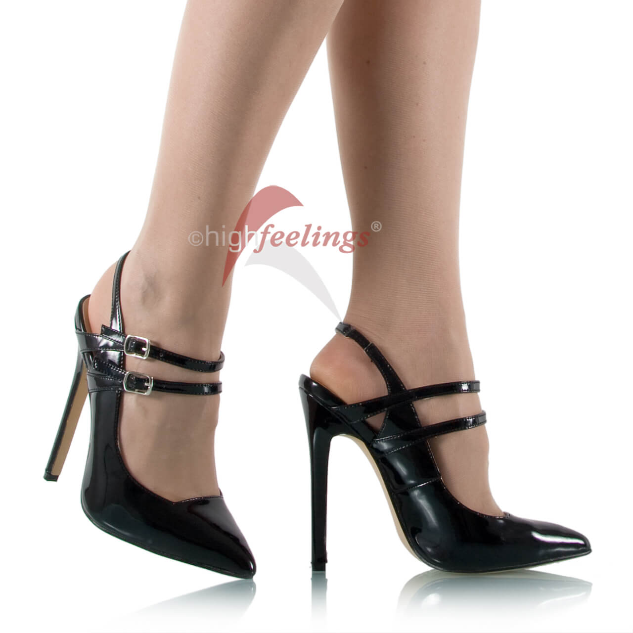 riemchen high heels pumps online bestellen high feelings. Black Bedroom Furniture Sets. Home Design Ideas
