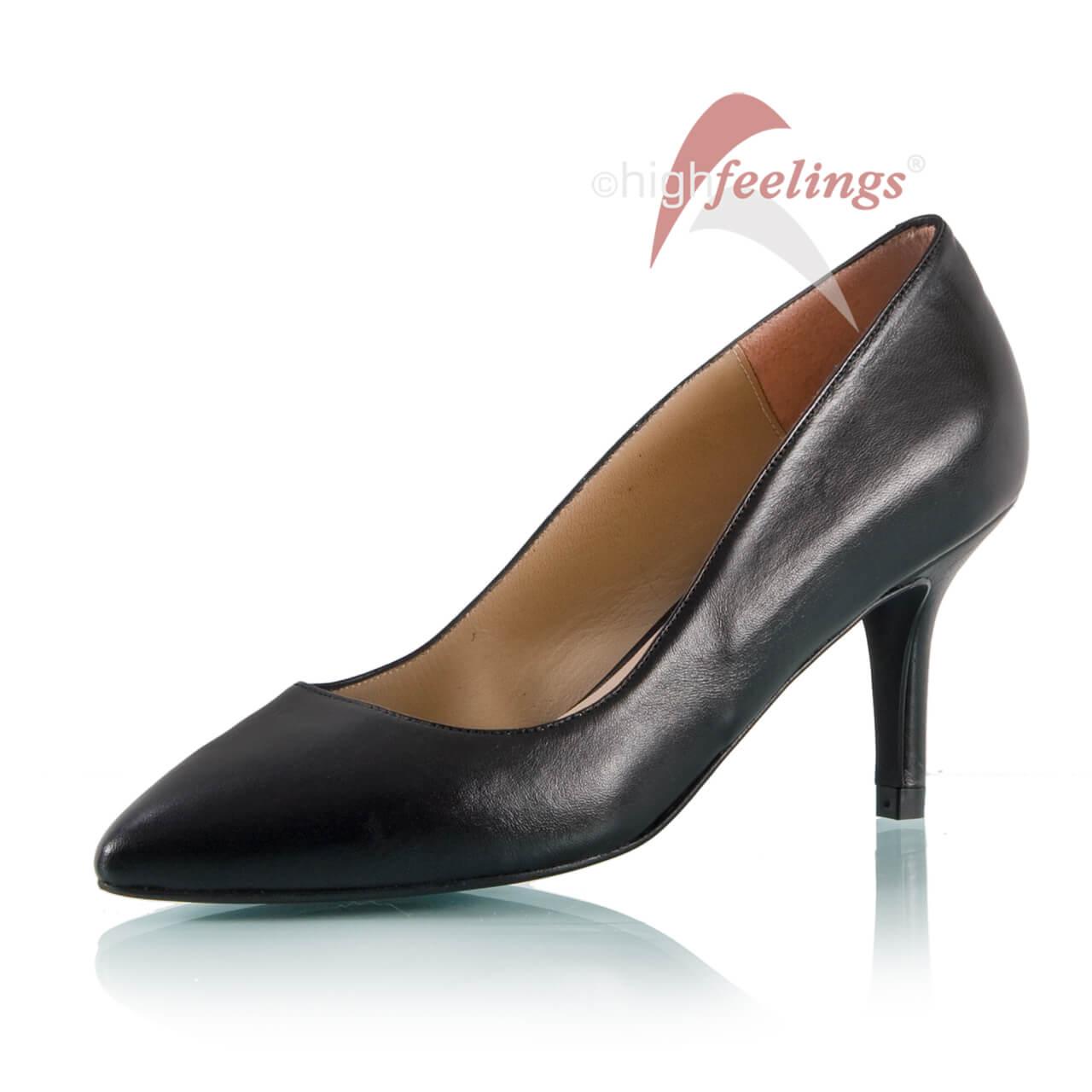 pumps in schwarz aus nappa leder high feelings. Black Bedroom Furniture Sets. Home Design Ideas