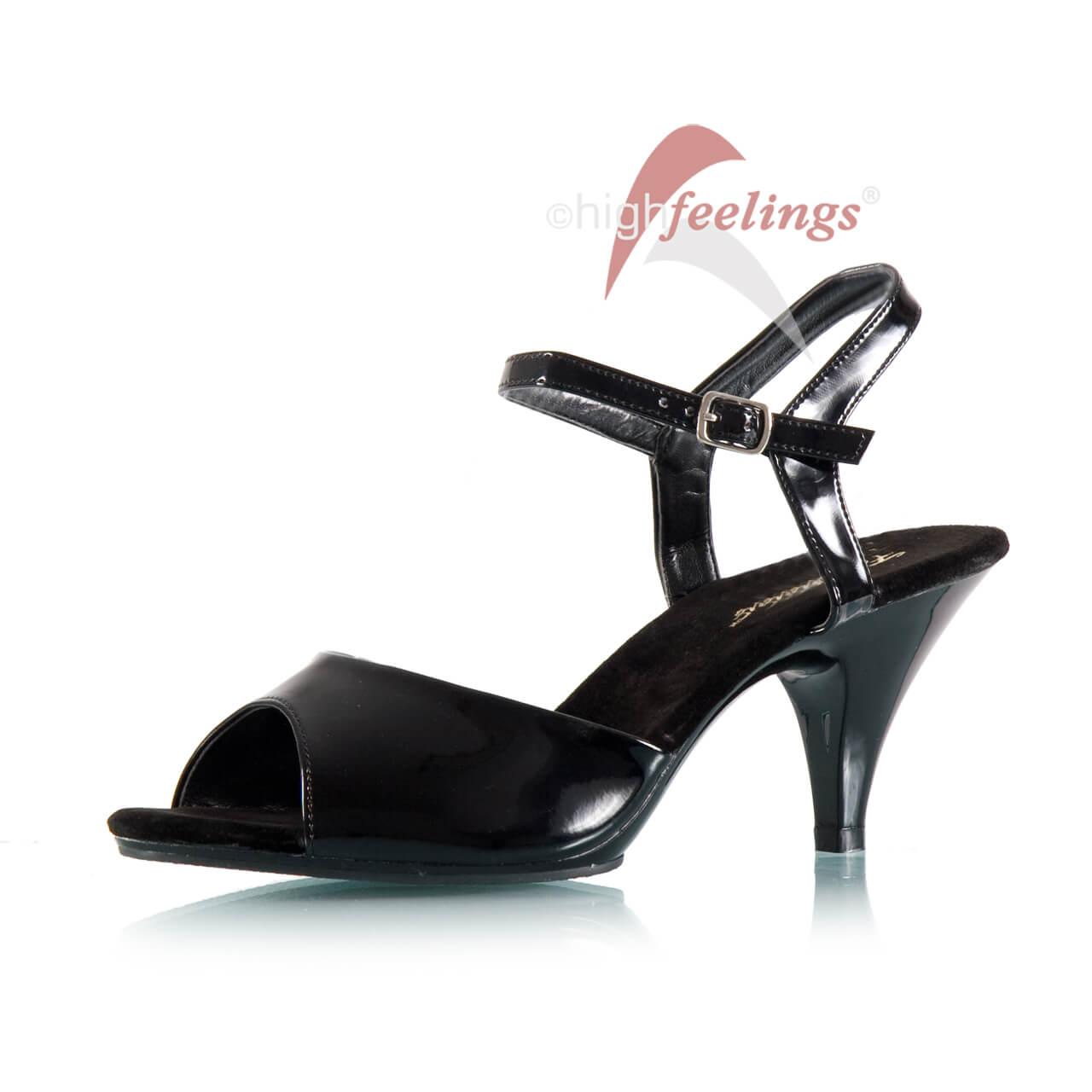 silberne sandaletten mit absatz truffle kollektion. Black Bedroom Furniture Sets. Home Design Ideas