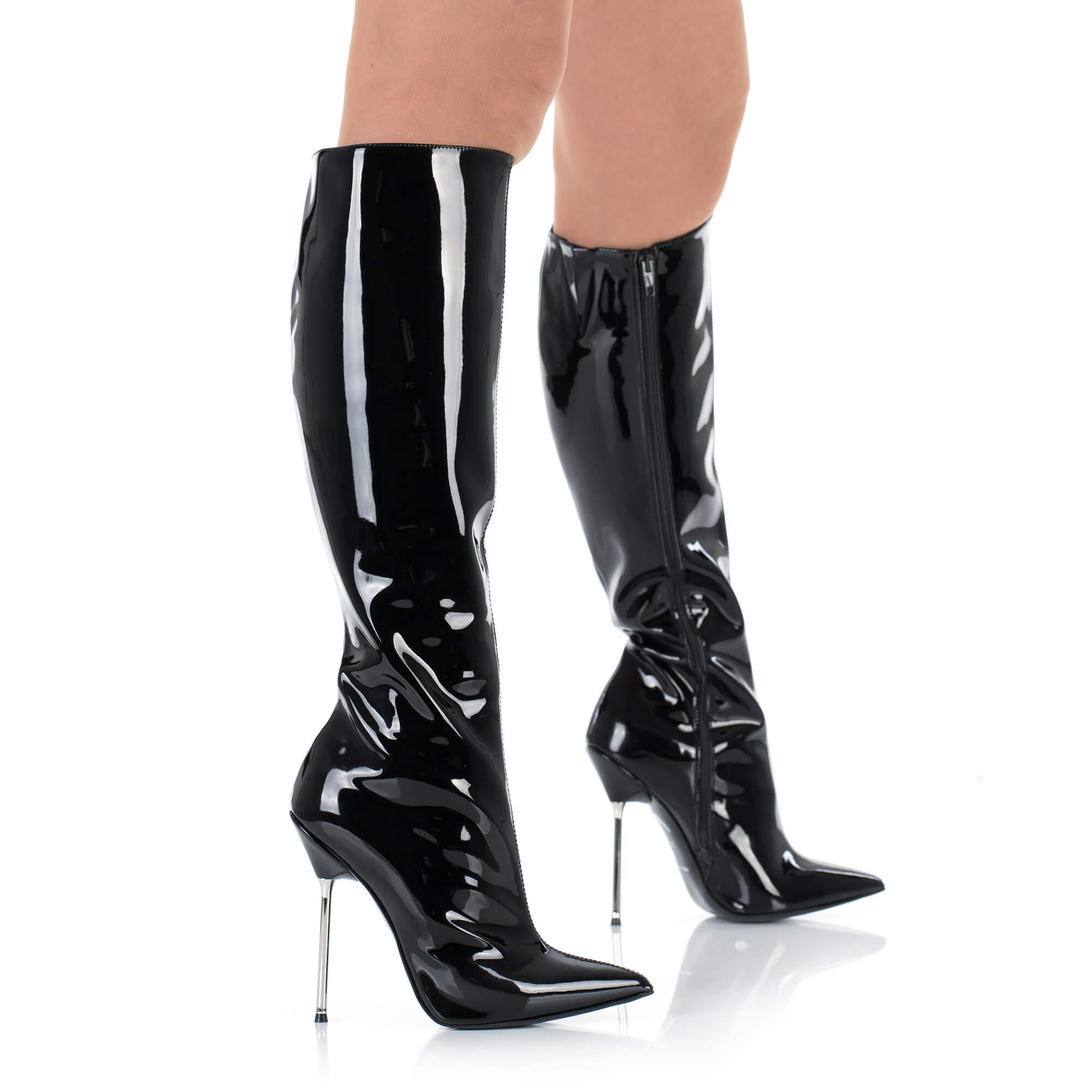 stiefel kunstleder  ballet  size 40-47  heel 21cm POLAND High heels