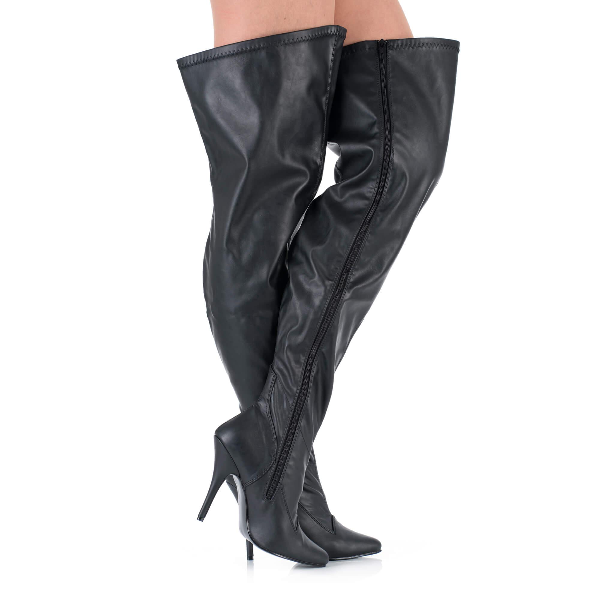 Overknee Stiefel mit extra weitem Schaft | high feelings