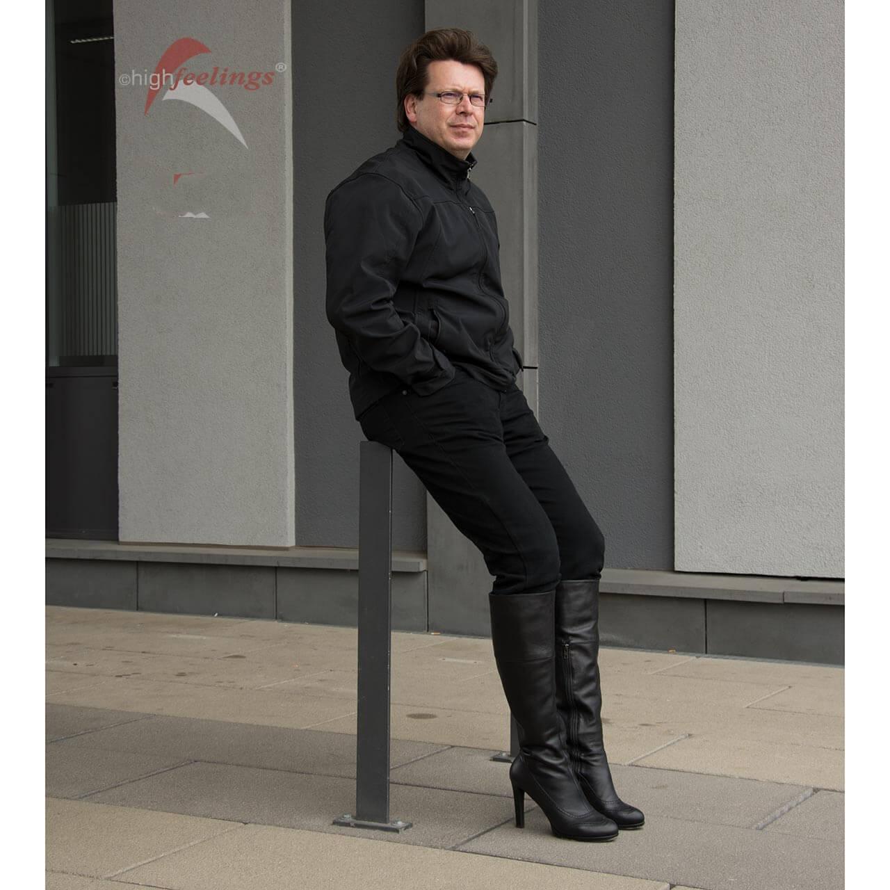 new style c9ba0 caee7 Stiefel mit hohem Absatz für Männer | high feelings
