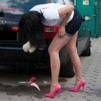 Vorschau: Autowäsche in High Heels