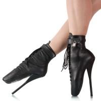 Vorschau: Ballet Stiefeletten Leder