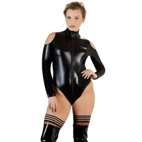 Wetlook-Body Schulterfrei - BO100030