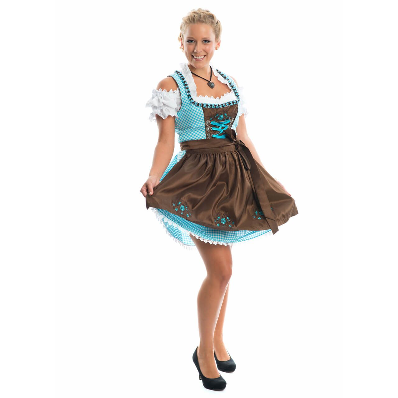 dirndl schuhe in high heels aufs oktoberfest high. Black Bedroom Furniture Sets. Home Design Ideas