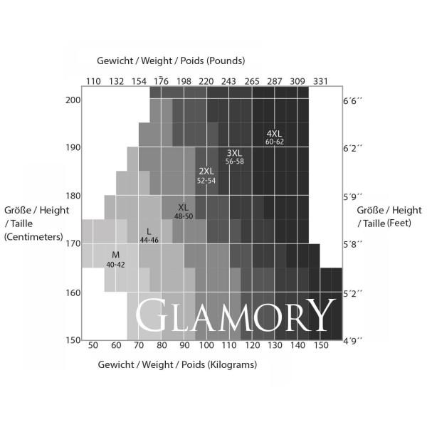 Glamory Größen