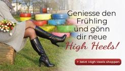 Geniesse den Frühling und gönn dir neue High Heels!