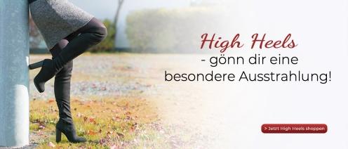 High Heels - gönn dir eine besondere Ausstrahlung!