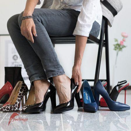 High Heels in den verschiedensten Formen