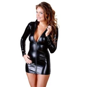 Minikleid mit sexy Reißverschluss - KL100066