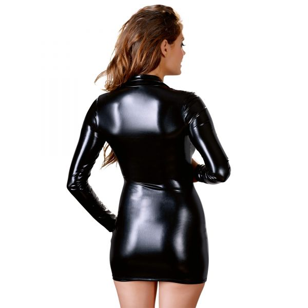 Minikleid mit sexy Reißverschluss