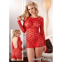 Enges Minikleid in Rot - KL100072