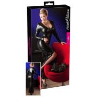 Wet-Look-Kleid Übergröße - KL100090