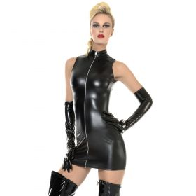 Sexy Wetlook-Kleid - KL150012