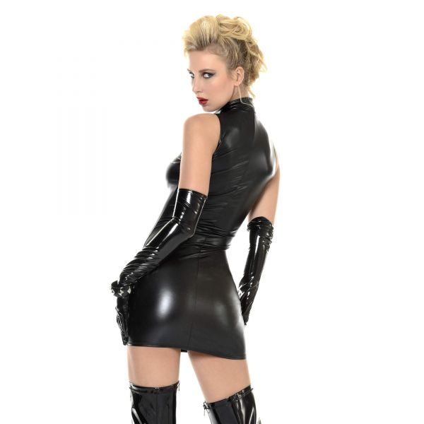 Sexy Wetlook-Kleid