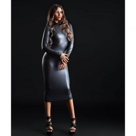 Wetlook-Kleid Lang - KL150014
