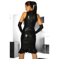 Vorschau: Schwarzes Kleid im Wetlook