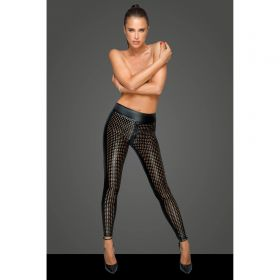 Laser Cut Wetlook Leggings - LG300002