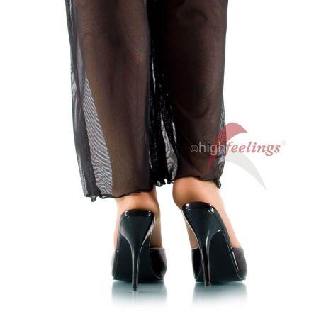 Pantoletten mit Absatz