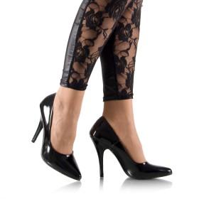 High Heels Lackpumps Schwarz - PU080013