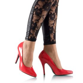 High Heels Pumps Rot Lack - PU080016