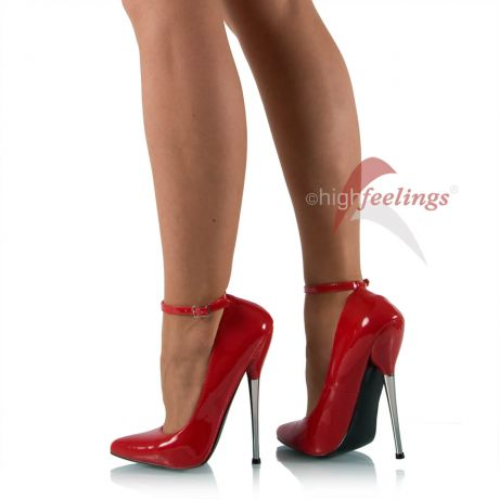 Extreme Stiletto High Heels Lack Rot
