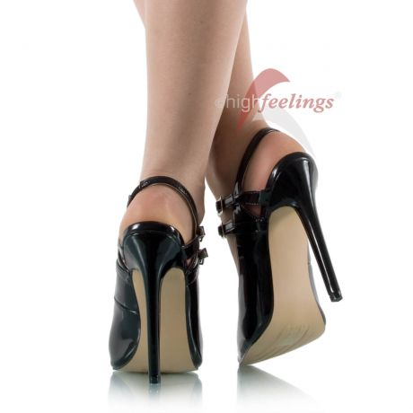 Riemchen High Heels Pumps