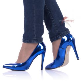 Pumps Blau Metallic - PU330009