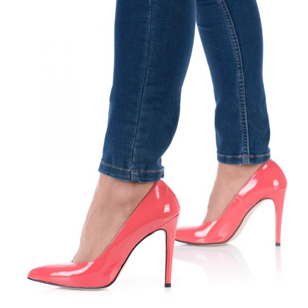 High Heels Pumps Koralle