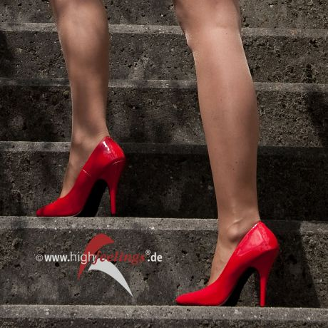 Rote High Heels Pumps