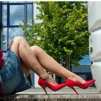Vorschau: Rote High Heels Pumps