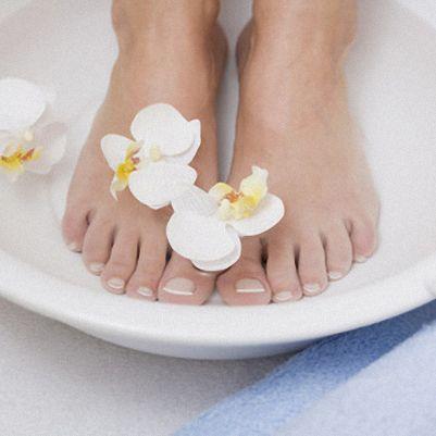 Ein Fußbad entspannt Füße und Seele