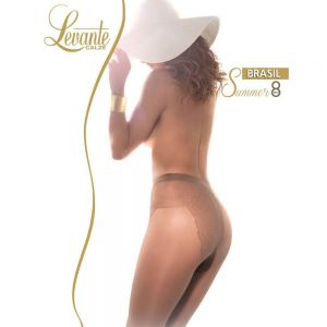 Strumpfhose mit Bikinihöschen Braun 8 DEN - SH020005