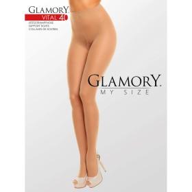 Strumpfhose Braun Glamory 50124 Vital 40 - SH040002