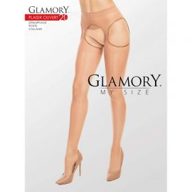 Straps Strumpfhose Glamory Plaisir Ouvert 20 DEN Make Up - SH040016