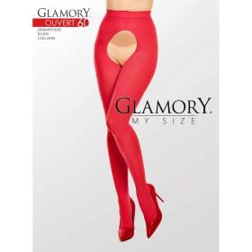 Glamory Strumpfhose 50126 Ouvert 60 Rot - SH040020