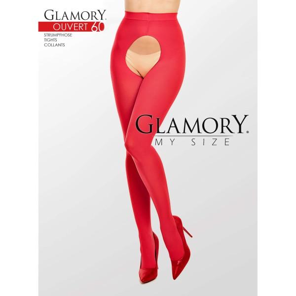 Glamory Strumpfhose 50126 Ouvert 60 Rot