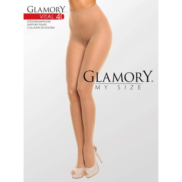 Strumpfhose Glamory 50124 Vital 40 Teint