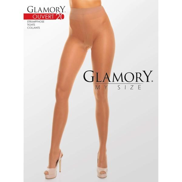 Strumpfhose Ouvert Braun Glamory 50129 Ouvert 20