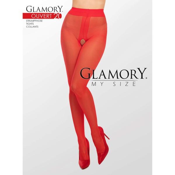 Strumpfhose Ouvert Rot Glamory 50129 Ouvert 20