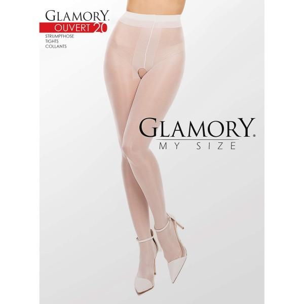 Strumpfhose Ouvert Weiß Glamory 50129 Ouvert 20