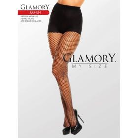Netzstrumpfhose Schwarz 50351 Mesh Black Glamory - SH040028