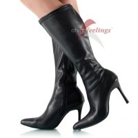 Vorschau: Stiefel mit weitem Schaft
