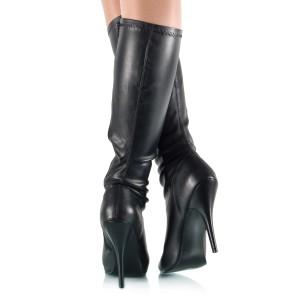 Stretch-Stiefel mit Absatz - SK080047