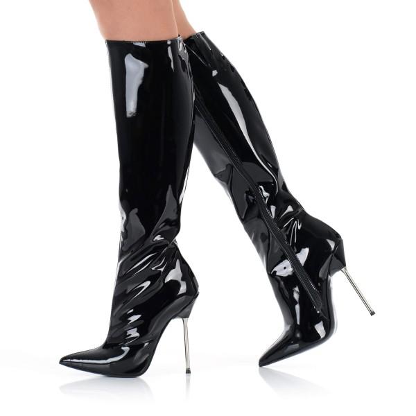 High Heels Stiletto Lackstiefel